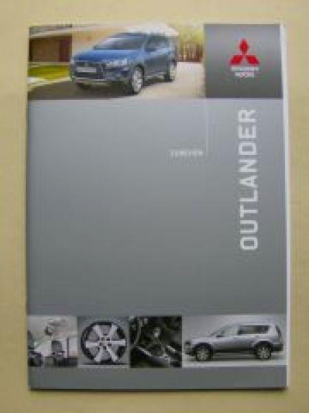 mitsubishi outlander zubeh r prospekt februar 2010. Black Bedroom Furniture Sets. Home Design Ideas