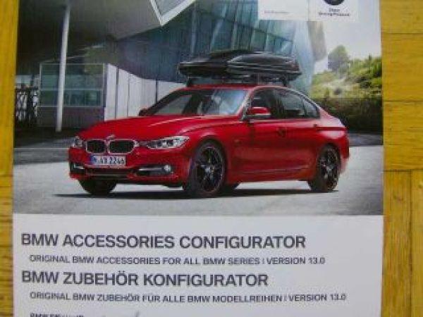 bmw zubeh r konfigurator alle modelle juli 2012 dvd neu. Black Bedroom Furniture Sets. Home Design Ideas