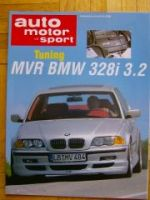 AMS 21/1998 MVR BMW 328i 3.2 E46 Tuning