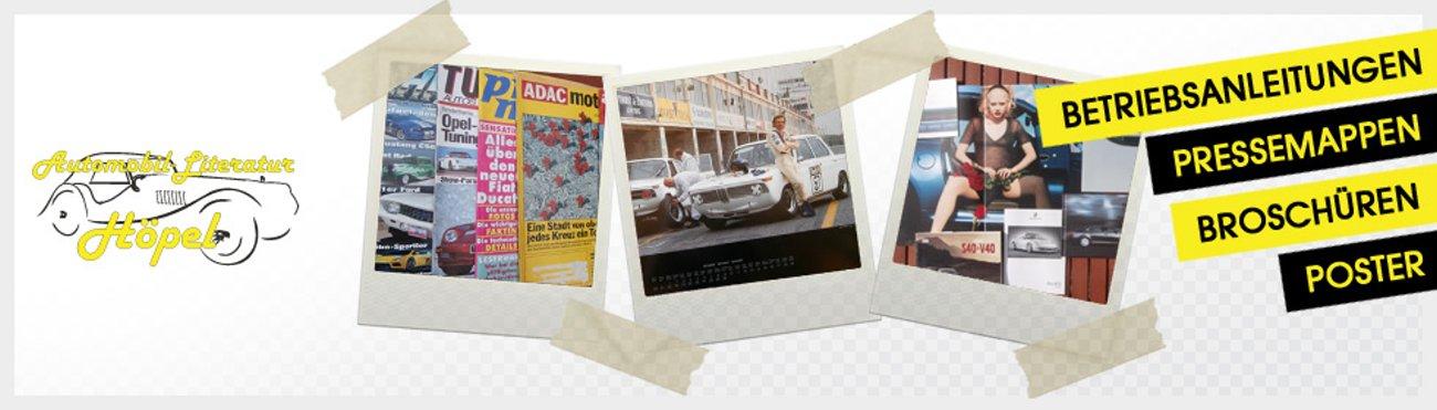 AutoLiteratur automobile Literatur Höpel Minden