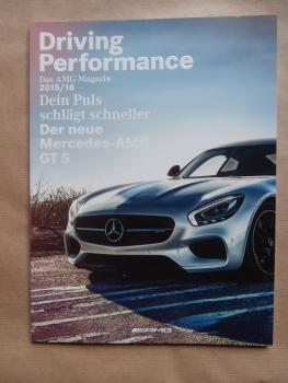 AMG Magazin 2015/16 Driving Performance neue AMG GT S,GLE 63 S Coupé