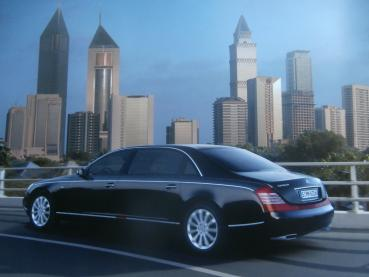Maybach 62S Equipment & Prices September 2006