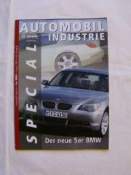 Automobil Industrie BMW 5er E60 Special August 2003 Vogel Verlag