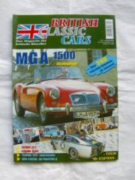 British Classic Cars 4/2003 MGA 1500,Jaguar SS 1 Open Tourer
