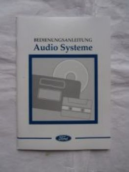 Ford Audiosysteme Modelle:1000,2000,3000 TRAFFIC +4000