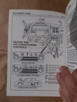 Pontiac Grand AM 1987 Owners Manual Betriebsanleitung