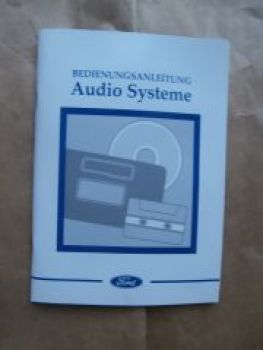 Ford Audio Systeme 1000 3000 4000,5000,6000CD, 7000 RDS-EON