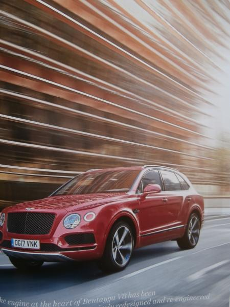 Bentley Magazin Spring 2018 Bentayga Hybrid, Continental GT First Edition,Continental GT3