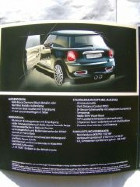 BMW Mini R56 1 of 1000 Inspired by Goodwood Cooper S NEU