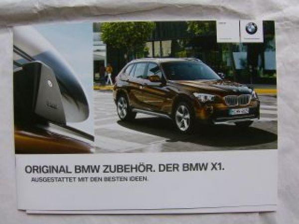 Bmw X1 E84 Zubehör Katalog Februar 2011 Neu