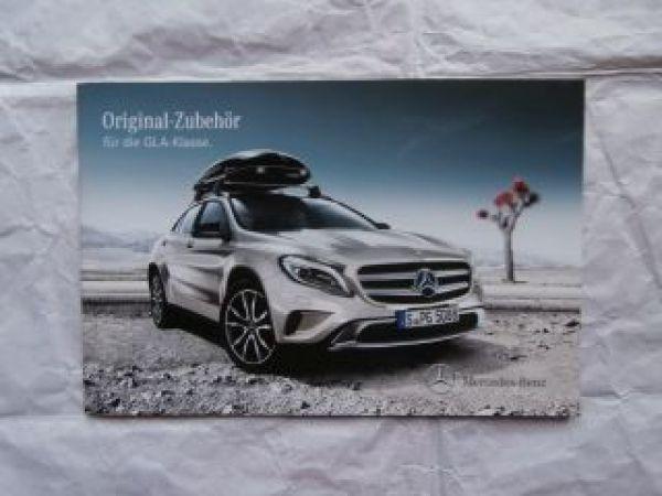 Mercedes Benz Gla Klasse Zubehör Katalog März 2014 Neu
