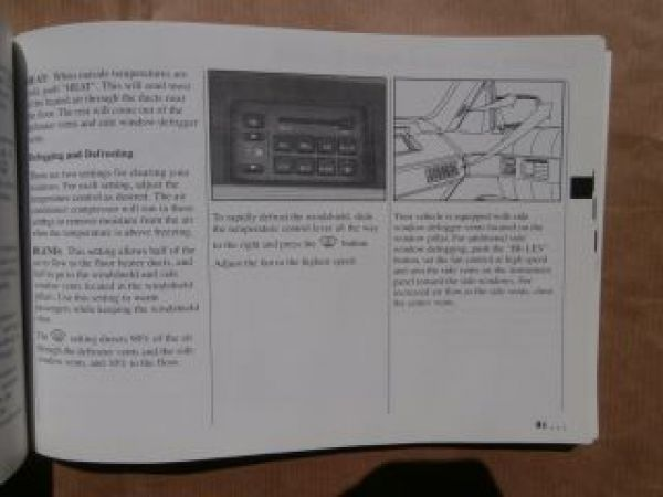 Chevrolet Lumina Owner´s Manual 1994