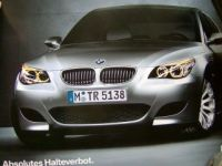 BMW M5 E60 Limousine Absolutes Halteverbot 2004 Original