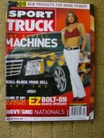 Sport Truck Chevy GMC USA Magazin 2002
