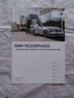 BMW Teleservices Argumenter August 2011 NEU